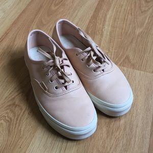 16c94d00f1892f Vans Shoes - Leather Vans Authentic Sneakers Natural Nude 7